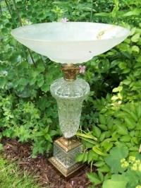 Lamp Birdbath - PetDIYs.com