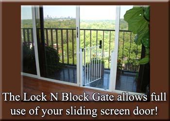 lock n block sliding door gate by