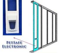 PetSafe Electronic | Security Boss Single Pane Patio Pet Door