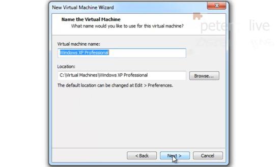 XP Virtual Machine