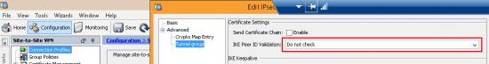 disable peer id validation