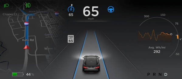 Tesla model s autopilot software 70