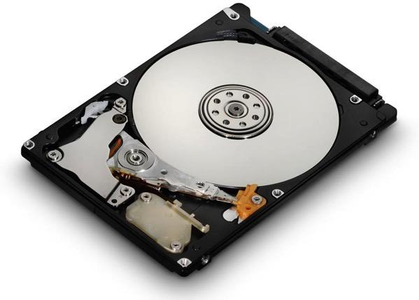 hard drive cutaway