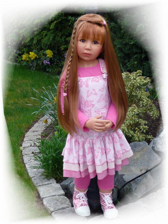 Monika Peter Leicht  Puppen  Dolls  Knstlerpuppen  HSE24