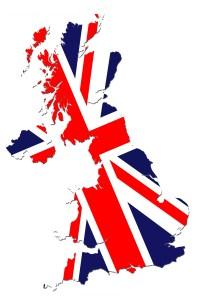 UK Flag Map