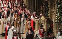 The Inauguration of the Ministry of the 105th Archbishop of Canterbury, Justin Portal Welby at Canterbury Cathedral.