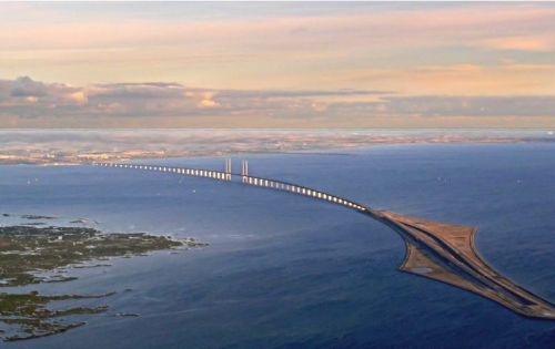Another View of the Oeresund Bridge - Stunning!
