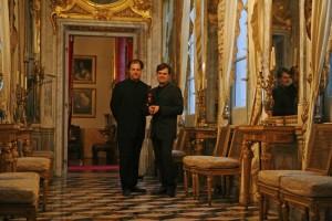 With Aaron Shorr-Genoa 2007.