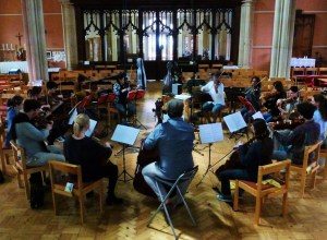 An amazing achievement from David Gorton; enraptured players recording his Lachrymae Variations today. With Aisha Orazbayeva, Alice Barron, Sara Cubarsi, Annabelle Berthome Reynolds, Shulah Oliver, Malcolm Allison, Evie Heyde, Carter Callison, Valerie Welbanks, Uilleac Whelan, Diana Mathews, Salome Salomé Rateau, Midori Komachi, Preetha Narayanan, David Gorton. Photo: Malene Sheppard Skaerved