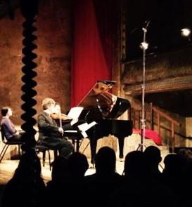 Mozart at Wilton's Music Hall. With Daniel-Ben Pienaar. 8 1 16