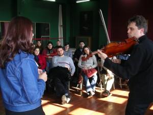Workshop: Istanbul Conservatoire. 2005 Photo: Can Ozgun
