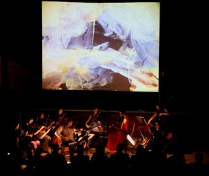 Longbow (Soloist Peter Sheppard Skaerved) playing Mihailo Trandafilovski's 'Diptych' with Joanna Jone's 'Re-Veil-le' (film by Dominic de Vere)
