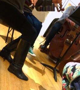 Workshop feet
