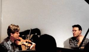 "Peter Sheppard Skaerved and Michael Hersch in conversation. ''Soundbox"" Royal Academy of Music Museum 28 10 14"