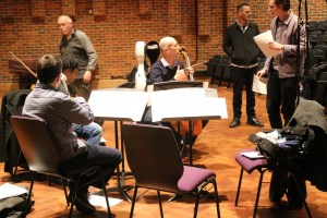 Workshop with Kreutzer Quartet, Michael Finnissy and Southampton University Composers. Turner Sims Concert Hall 7 3 16