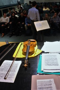 Preparing to give a seminar/recital to the composers at Peabody Conservatoire. 15 11 16