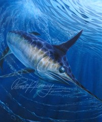 Swordfish painting