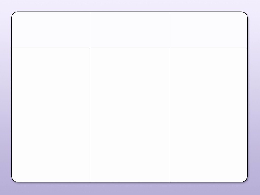 Blank 10 Column Worksheet Template