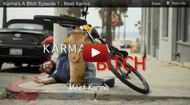 Karma: once you meet her you won't forget her