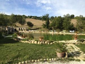 Eco-lake. La Ciminiera, Staffolo.
