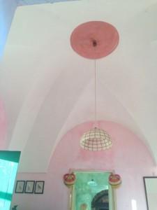Dammuso's ceilings.