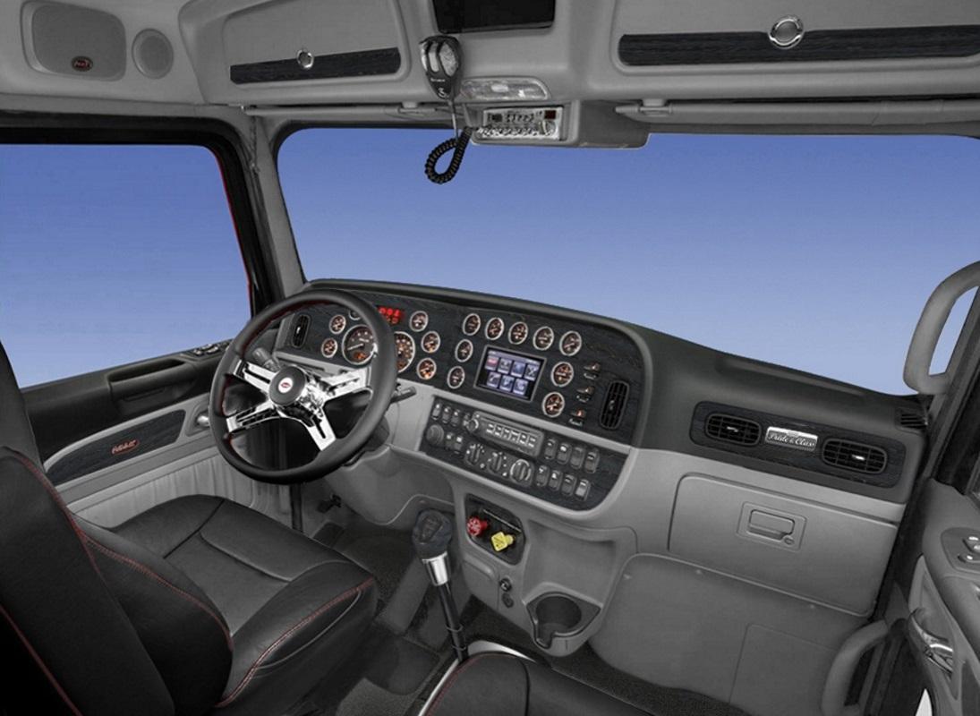 medium resolution of peterbilt 389 interior