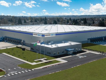 Feature image for PACCAR Parts new distribution center in Renton, Washington