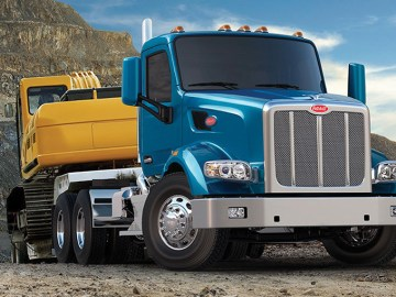 Peterbilt's flagship vocational truck