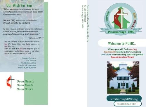 PUMC Brochure