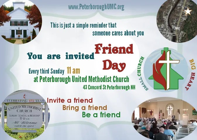 Friend Day Flyer Half Page