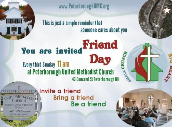 Friend Day Flyer Quarter Page PDF