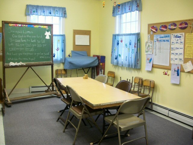 Sunday school room