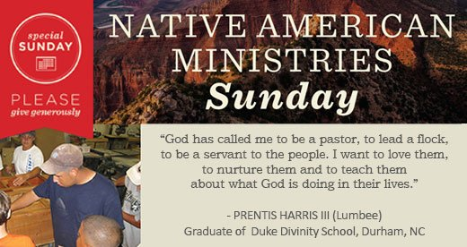 Native American Ministries Sunday