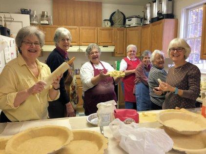 Pie bakers