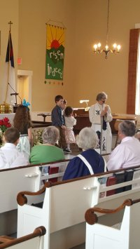Children's Moment with Rev Card