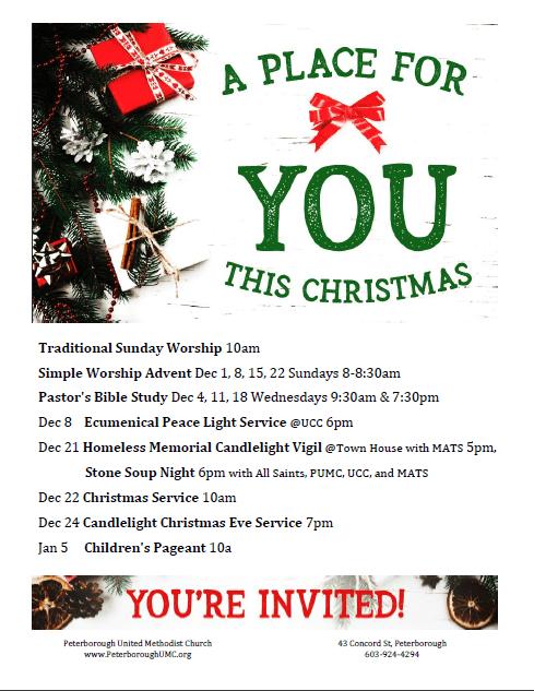 Advent flyer