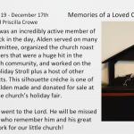 2020 PUMC Advent Calendar - Day 19 - December 17, 2020