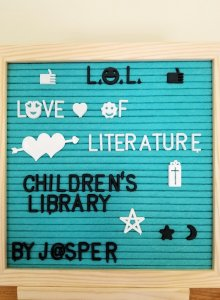 LOL Love of Literature by Jasper
