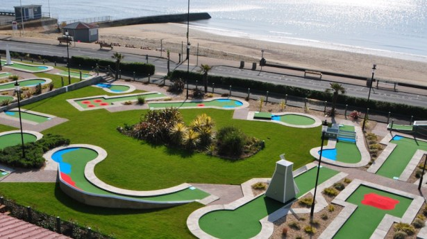 10 hole crazy golf Shanklin Seafront