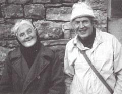 Hannah Hauxwell and Peter Brook