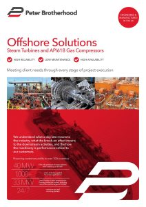 Peter Brotherhood Offshore Brochure