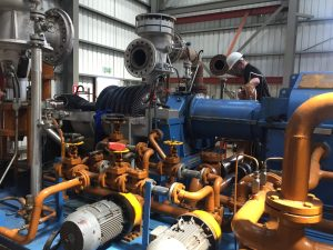 Steam Turbine Installation and Commissioning
