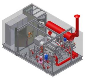 3D Model of CHP Package