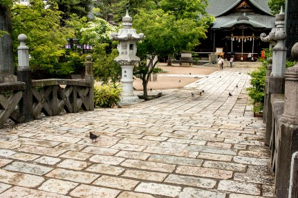 Yohashira Shrine, Matsumoto, Nagano