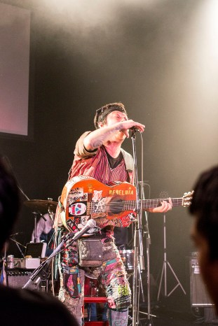 "Turtle Island at the ""To Future Gig,"" Hiroshima"