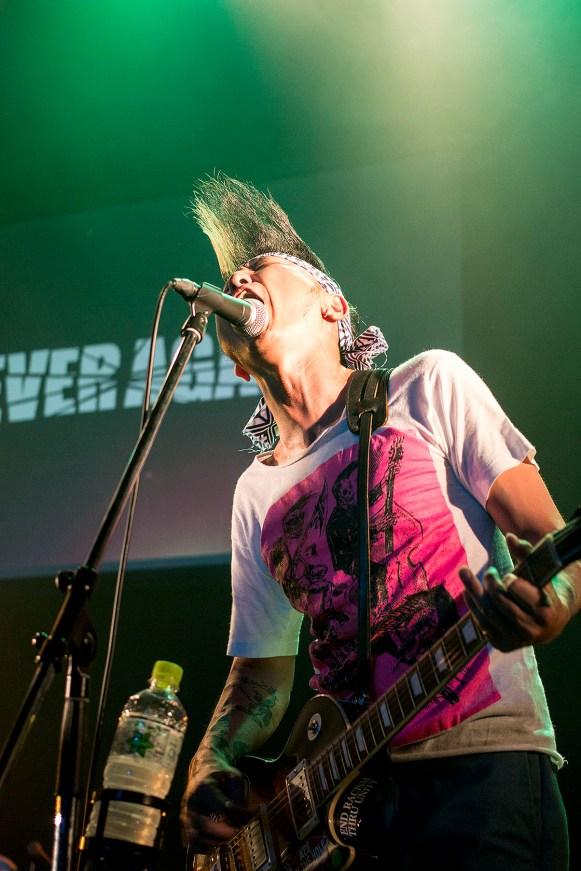 "Never Again at the ""To Future Gig,"" Hiroshima"