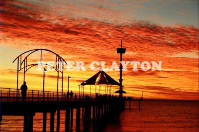 AUSTRALIA - BRIGHTON - JETTY AT SUNSET (SA)  R4
