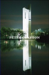 AUSTRALIA - CANBERRA - NATIONAL CARILLON AT NIGHT R4 (22)