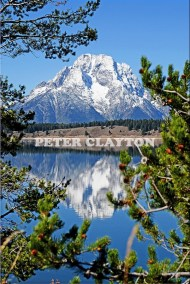 TETON MTNS - WYOMING USA  #1 R4