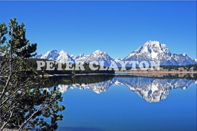 TETON MTNS - WYOMING USA #4 R4